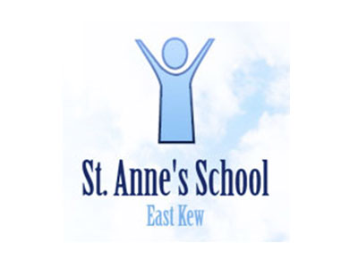 St Anne's School East Kew logo